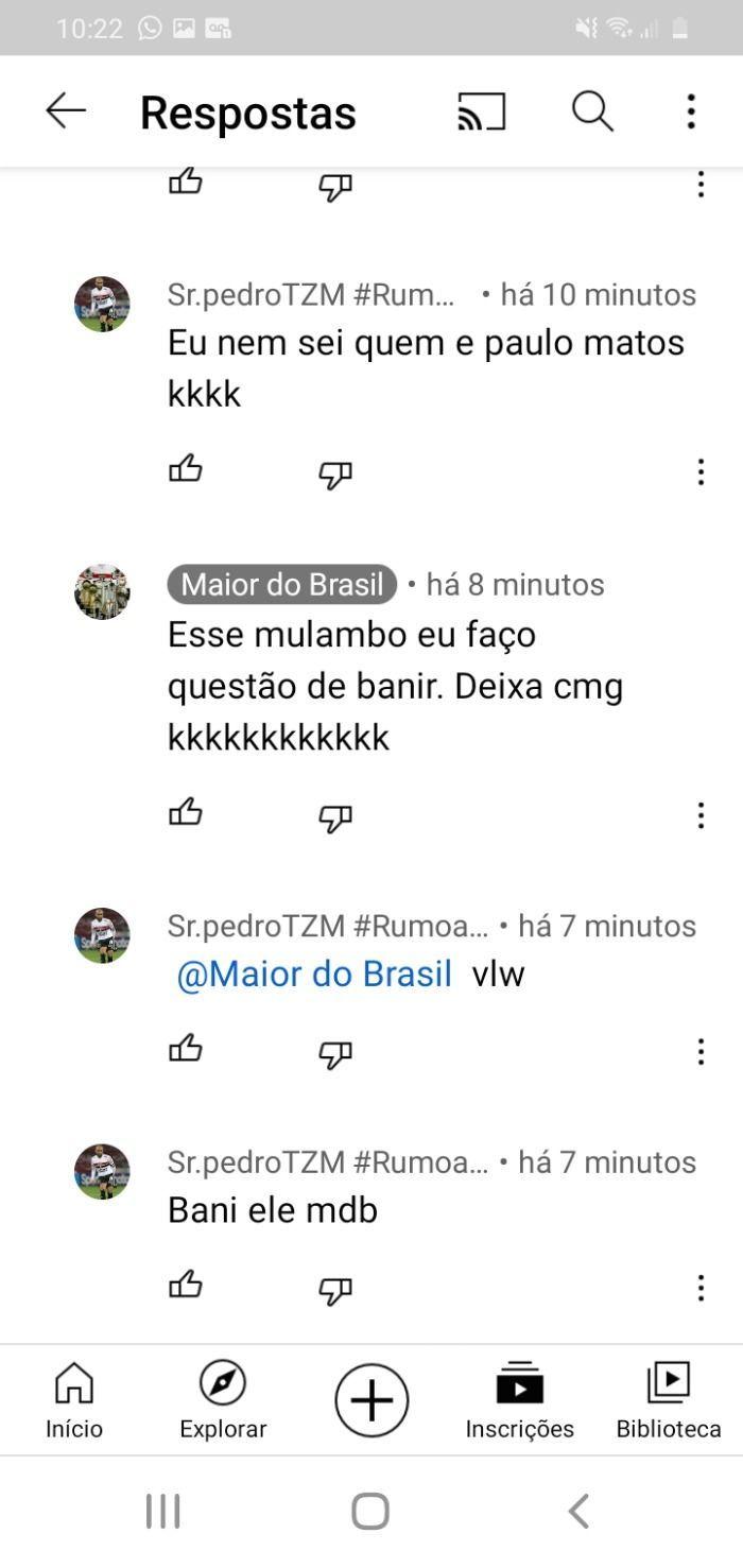 Maior do Brasil resto é lixo se revoltar e bani pai dos traficantes