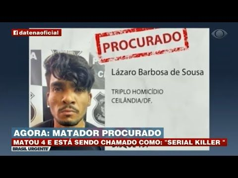 Serial Killer Lázaro é visto em Belo Horizonte Minas Gerais