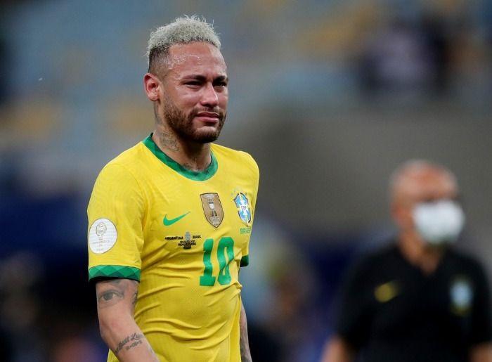 Neymar chora em campo após saber que não vai ter Nigma no TI