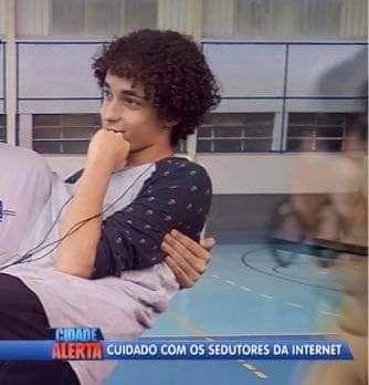 Jovem seduz cohab inteira é preso e agora vai jogar no Vasco.