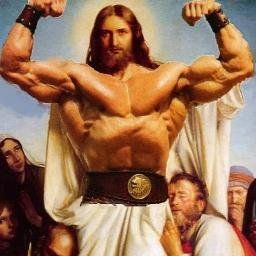 Jesus está vivo e virou bodybuilder