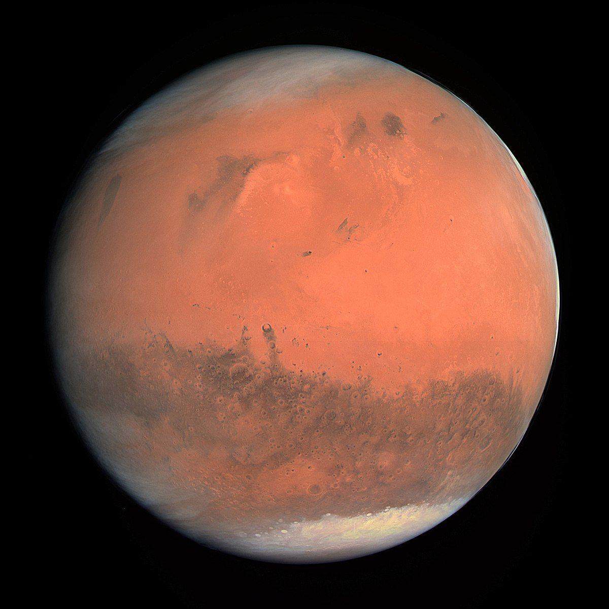 Rapaz é  avistado em Marte